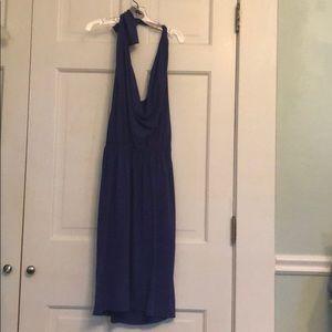 Vera Wang Lavender Label purple halter dress